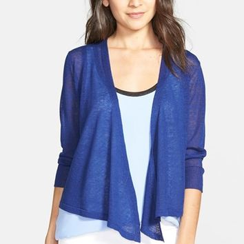 Petite Women's NIC+ZOE 'Four-Way' Convertible Cardigan