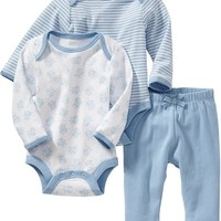 Old Navy Bodysuit & Pant 3 Packs For Baby