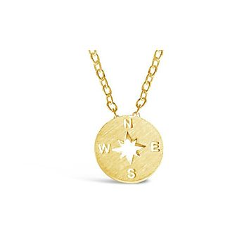 Minimalist Compass Necklace