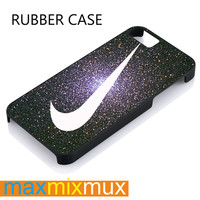 Diamond Dust Nike iPhone 4/4S, 5/5S, 5C, 6/6 Plus Series Rubber Case