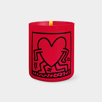 Keith Haring: Running Heart Candle