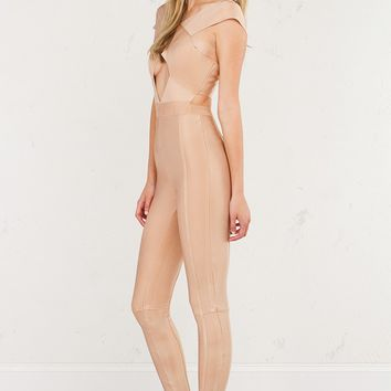 POSIE BANDAGE JUMPSUIT - What's New