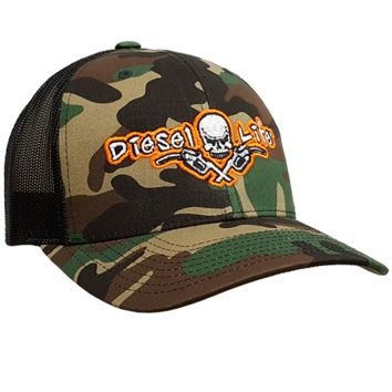 Diesel Life Snap Back Adjustable Ball Cap Trucker Hat 4 Colors