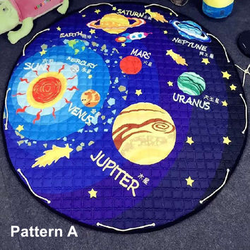 Free Shipping New Solar System Baby Play Mats Buggy Bag Multi Fu