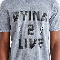 Dying 2 Live Tee- Sapphire