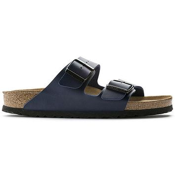 Birkenstock Arizona Soft Footbed Birko Flor Blue 0051061/0051063 Sandals - Ready Stock