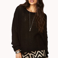 Cozy Open-Knit Top | FOREVER 21 - 2000091959