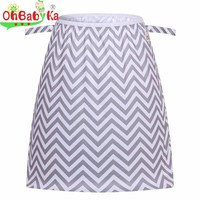 Ohbabyka Reusable Wetbag Pail Liner for Cloth Dirty Diapers Rubbish Bag Waterproof PUL Baby Cloth Diaper Pail Liner Wet Dry Bag