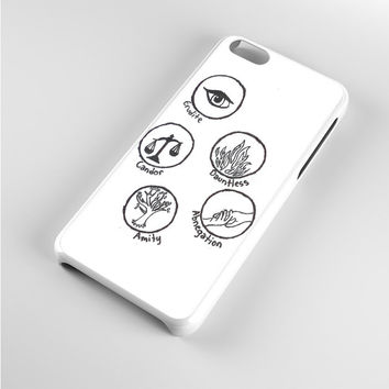 Divergent Symbols Art iPhone 5c Case