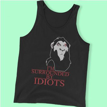 Scar The Lion King Surrounded By Idiots Men'S Tank Top
