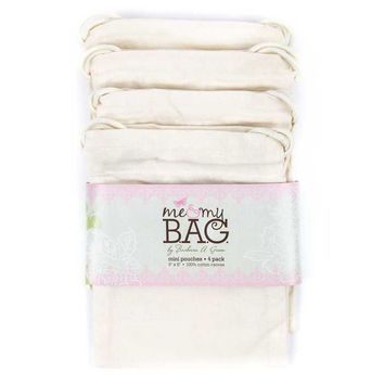 Lightweight Natural Cotton Canvas Mini Pouches | Hobby Lobby