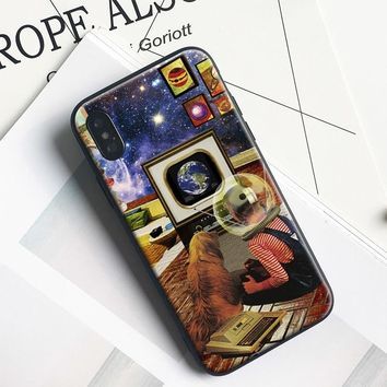 Vintage 80s poster Coque soft silicone TPU Phone Case cover Shell For Apple iPhone 5 5S SE 6 6S 6Plus 6sPlus 7 7Plus 8 8Plus X
