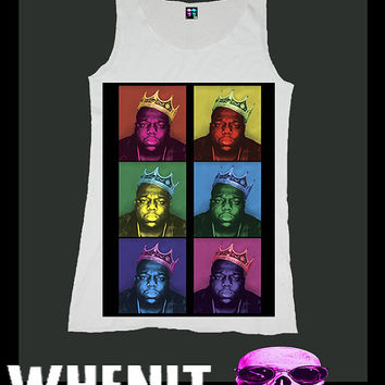 worldwide shipping just 7 days THE NOTORIOUS BIG shirt singlet tank top 1008