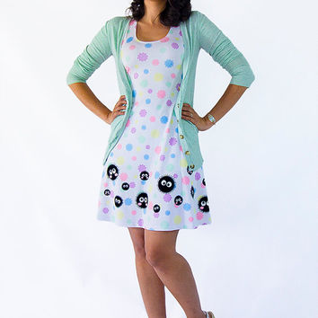 SPIRITED AWAY Soot Sprites Pastel Konpeito Candy Dress - Made to Order