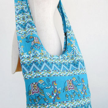 Hill Tribe Shoulder Bag Boho Hippie CrossBody Messenger Elephant Travel Bag # 13