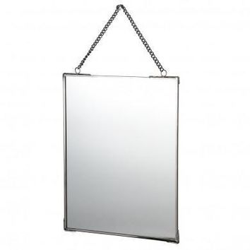 Hanging Mirror With Chain