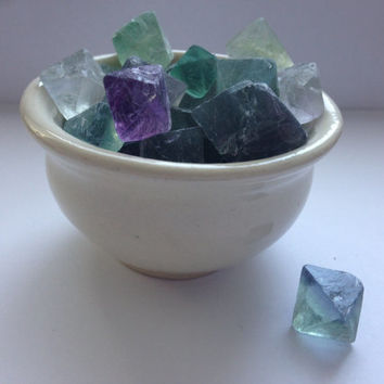 Fluorite Octahedron for Crystal Healing