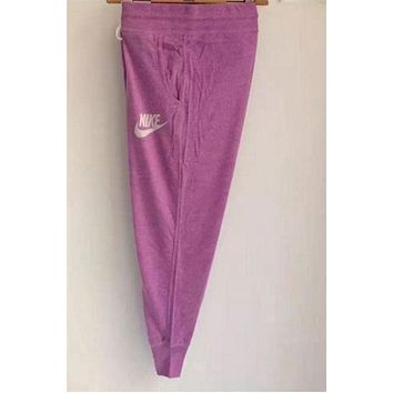 """Nike"" Trending Women Casual Print Gym Pants Sport Sweatpants ( 6-color ) I"
