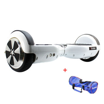 hoverboard Electric Skateboard steering-wheel 2 two Smart wheel Self Balancing Scooter UL2272 Kick scooter with bag