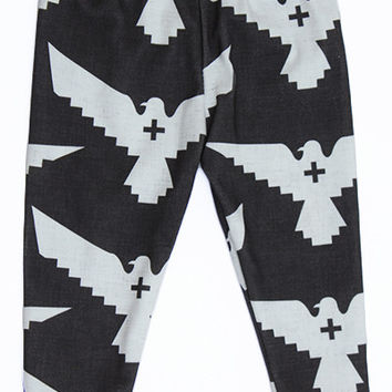 Grey Eagle Baby Leggings