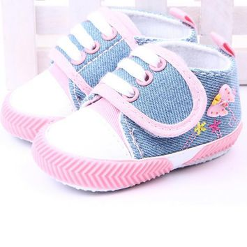 Baby Shoes Girls Soft Sole Booties s 0-1Y