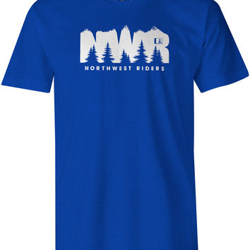 Explore T-Shirt Royal Heather