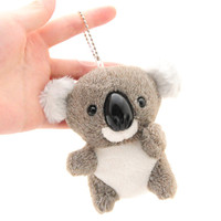 1 Pcs Random Color New 10cm Koala Keychain Pendant Cute Kawaii Quality Baby Children Plush Toys Hot Sell Kids Toys for Children