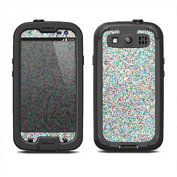 The Colorful Small Sprinkles Samsung Galaxy S4 LifeProof Fre Case Skin Set