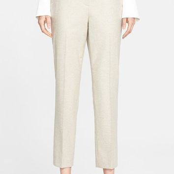 Women's Nordstrom Signature and Caroline Issa Winter Flannel Ankle Pants,