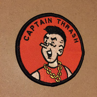 "Archie Jughead Captain Thrash 3"" embroidered patch"