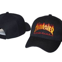 THRASHER Embroidered Baseball Cap