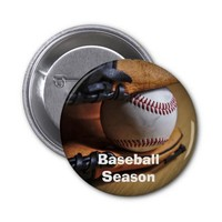 Button: Baseball Season 2 Inch Round Button