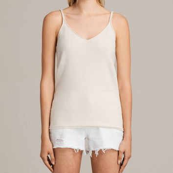 ALLSAINTS UK: Womens Blyth Vest (ANTIQUE WHITE)