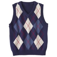 Cherokee® Infant Toddler Boys' Argyle Sweater Vest