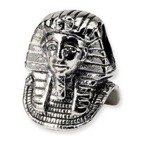 Reflection Beads Sterling Silver Pharaoh Bead (14 x 10 mm)