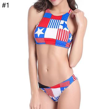 High-end split swimsuit female sexy bikini