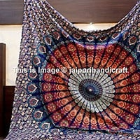 Large Buddhist Mandala Tapestry Hippie Hippy Wall Hanging Beach Throw Bohemian Tapestries Beach Sheet Mandala tapestries wall Art Tapestries