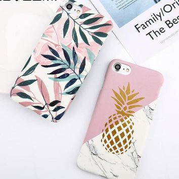 Pineapple iPhone Case - For iPhone 8 7 6 6s Plus