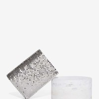 Whiting & Davis Love and Desire Mesh Card Case