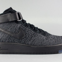 Nike Men's Air Force 1 Mid Ultra Flyknit Dark Grey