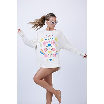 Daydream Roadtrip Sweater - Vintage Lace