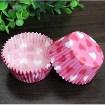 10 styles 100 pcs cupcake liner baking cup cupcake paper muffin cases Cake box Cup egg tarts tray cake mould decorating tools