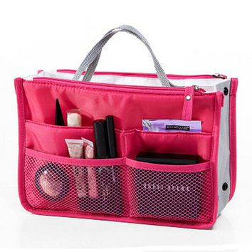 Toiletry Kit Travel Necessaries Necessaire For Women Make Up Makeup Cosmetic Toilet Bag Purse Organizer Beauty Case Pouch Vanity