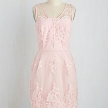 Outstanding on Ceremony Dress in Blush