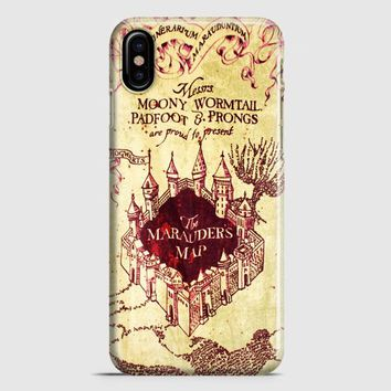 MarauderS Map Harry Potter iPhone X Case
