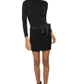 Jac Parker Mock Neck L/S Dress