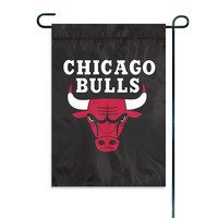Chicago Bulls NBA Garden-Window Flag