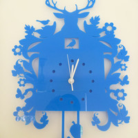 Birdhouse cuckoo clock by ikandi gifts and decor by ikandi11