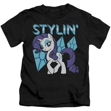 My Little Pony Boys T-Shirt Stylin Black Tee