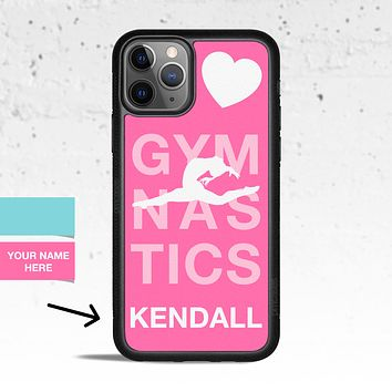 Personalized Gymnastics Case for Apple iPhone